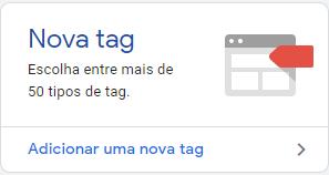 instala o gerenciador de tags
