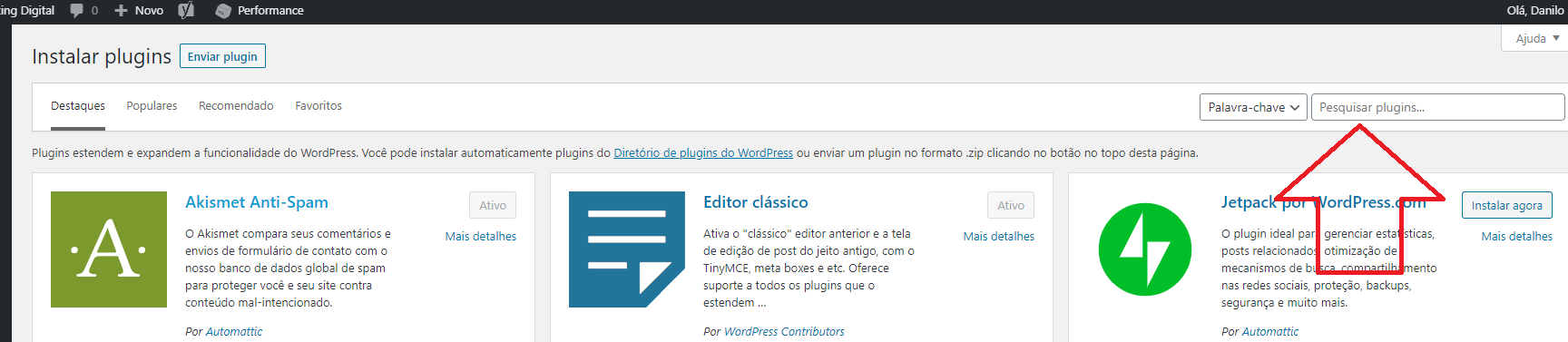 WordPress - Plug-in